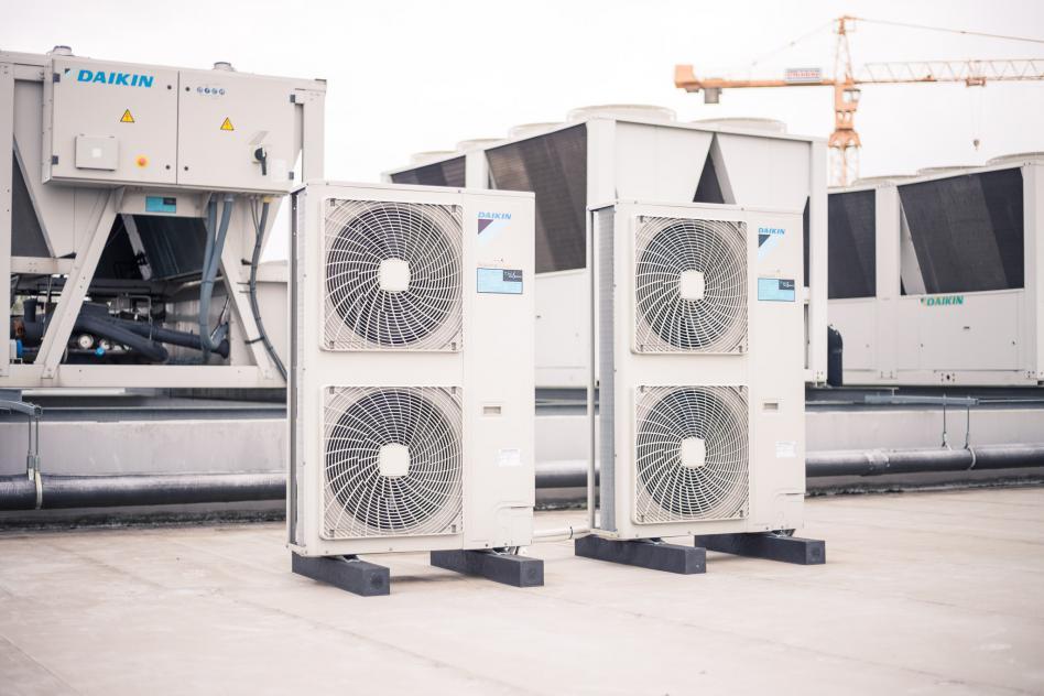 Energiezuinige airconditioning met meerdere units