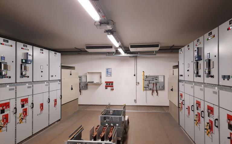 koeling elektrische schakelruimte